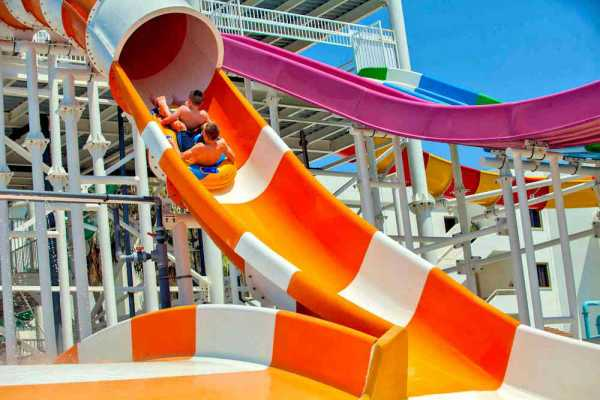 Leonardo Laura Beach & Splash Resort - Crusader with Typhoon Tunnel
